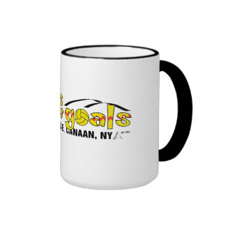Coffee with pedro ringer coffee mug