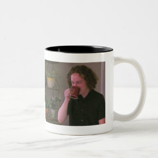 Coffee with Ryan Kennedy Two-Tone Coffee Mug