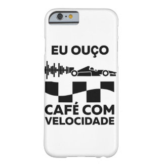 Coffee with Speed - Layer iPhone 6 Barely There iPhone 6 Case