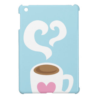 Coffee with steam cover for the iPad mini