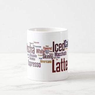 Coffee Word Clouds Mug