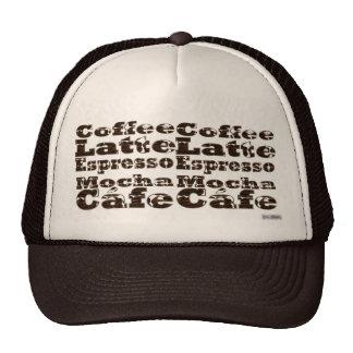 Coffee Words Hat