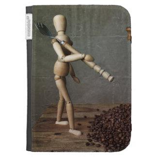 Coffee Worker Kindle Keyboard Covers