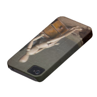 Coffee Worker iPhone 4 Case-Mate Cases