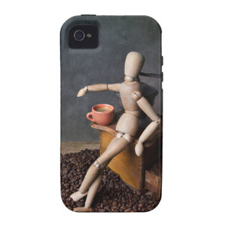Coffee Worker iPhone 4/4S Cover