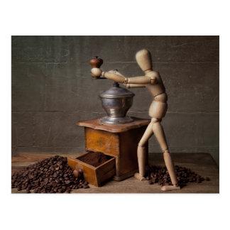Coffee Worker Postcards