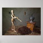 Coffee Worker Print