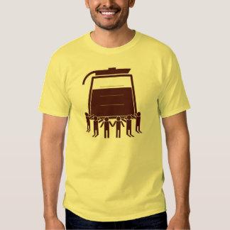 Coffee worship shirt. t shirt