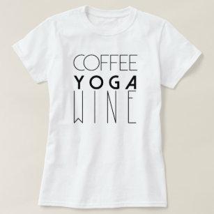 b324218e Yoga T-Shirts - T-Shirt Design & Printing   Zazzle