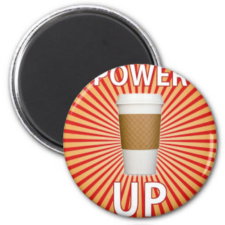 Coffee - Your Super Power! 2 Inch Round Magnet