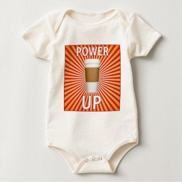 Coffee Themed Coffee - Your Super Power! Baby Bodysuit