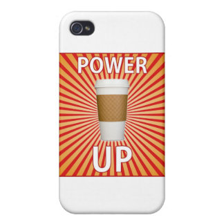 Coffee - Your Super Power! Covers For iPhone 4