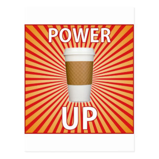 Coffee - Your Super Power! Postcard