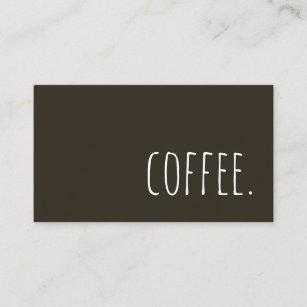 Coffee business cards zazzle coffee business card colourmoves