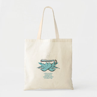 coffee zen tote bags