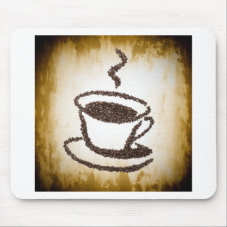 CoffeeBeansCoffeeCupArt.jpg Mouse Pad