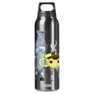 CoffeeBot y MilkBot por Valxart Botella Isotérmica De Agua