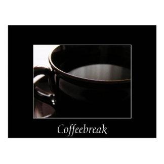 Coffeebreak Postcard