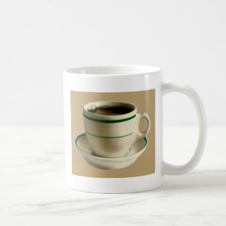 CoffeeCup on tan Coffee Mug