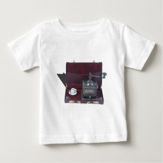CoffeeGrinderInBriefcase082414 copy.png Baby T-Shirt