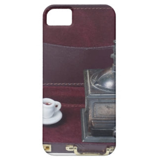 CoffeeGrinderInBriefcase082414 copy.png iPhone SE/5/5s Case