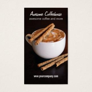 coffeehouse business card
