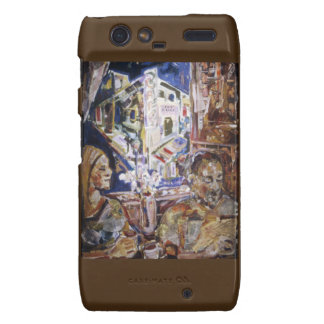 Coffeehouse of the Mind Motorola Droid RAZR Covers