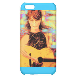 Coffeehouse Singer Girl iPhone 5C Cover