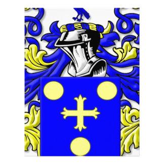 coffeen Coat of Arms Letterhead Design
