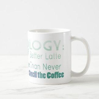 Coffeeology Sayings Mug for Coffee Lovers
