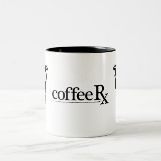 CoffeeRx Owl Two-Tone Coffee Mug