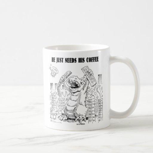 COFFEEZILLA COFFEE MUG
