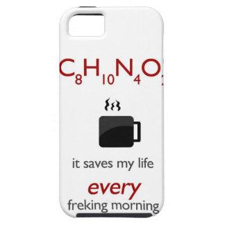 Coffein - ahorra mi vida cada mornin freking iPhone 5 Case-Mate protector