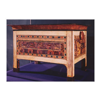 Coffer from the Tomb of Tutankhamun Canvas Print