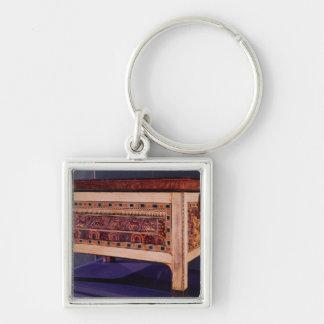 Coffer from the Tomb of Tutankhamun Key Chain