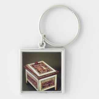 Coffer, from the Tomb of Tutankhamun Key Chain