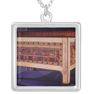 Coffer from the Tomb of Tutankhamun Silver Plated Necklace
