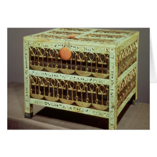 Coffer from the treasury of tomb of card