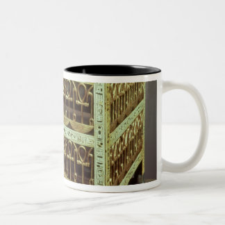 Coffer from the treasury of tomb of Two-Tone coffee mug