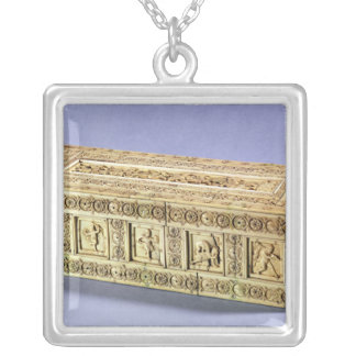Coffer, from Turkey Square Pendant Necklace