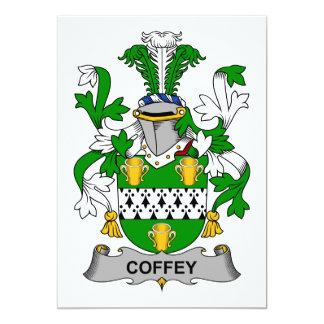 Coffey Family Crest Card