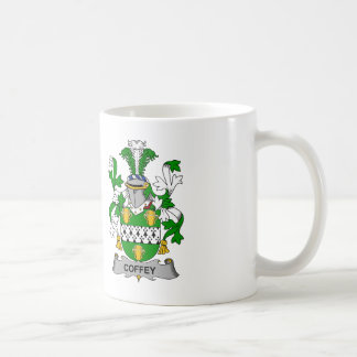 Coffey Family Crest Coffee Mug