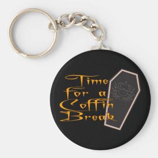 coffin break keychain