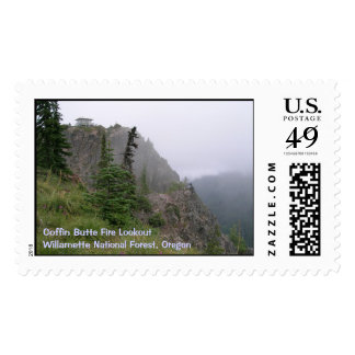 Coffin Butte Fire Lookout Stamp