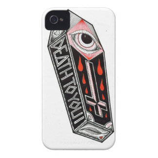coffin iPhone 4 cases