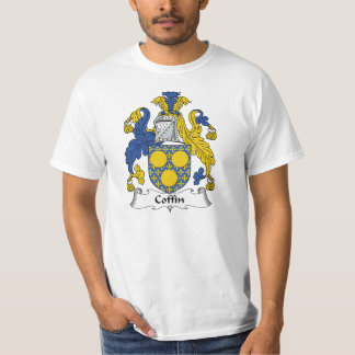 Coffin Family Crest T-Shirt