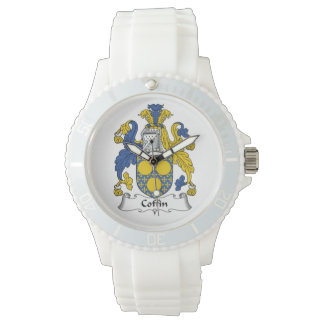 Coffin Family Crest Watch