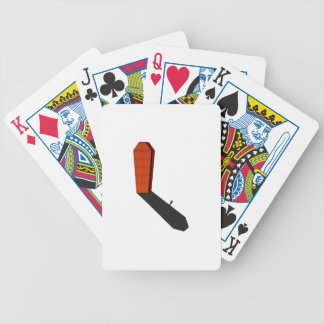 Coffin Ghost Bicycle Playing Cards