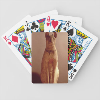 Coffin of a cat protected by the goddess Bastet (p Bicycle Playing Cards