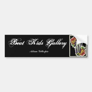 Coffin & Roses sticker